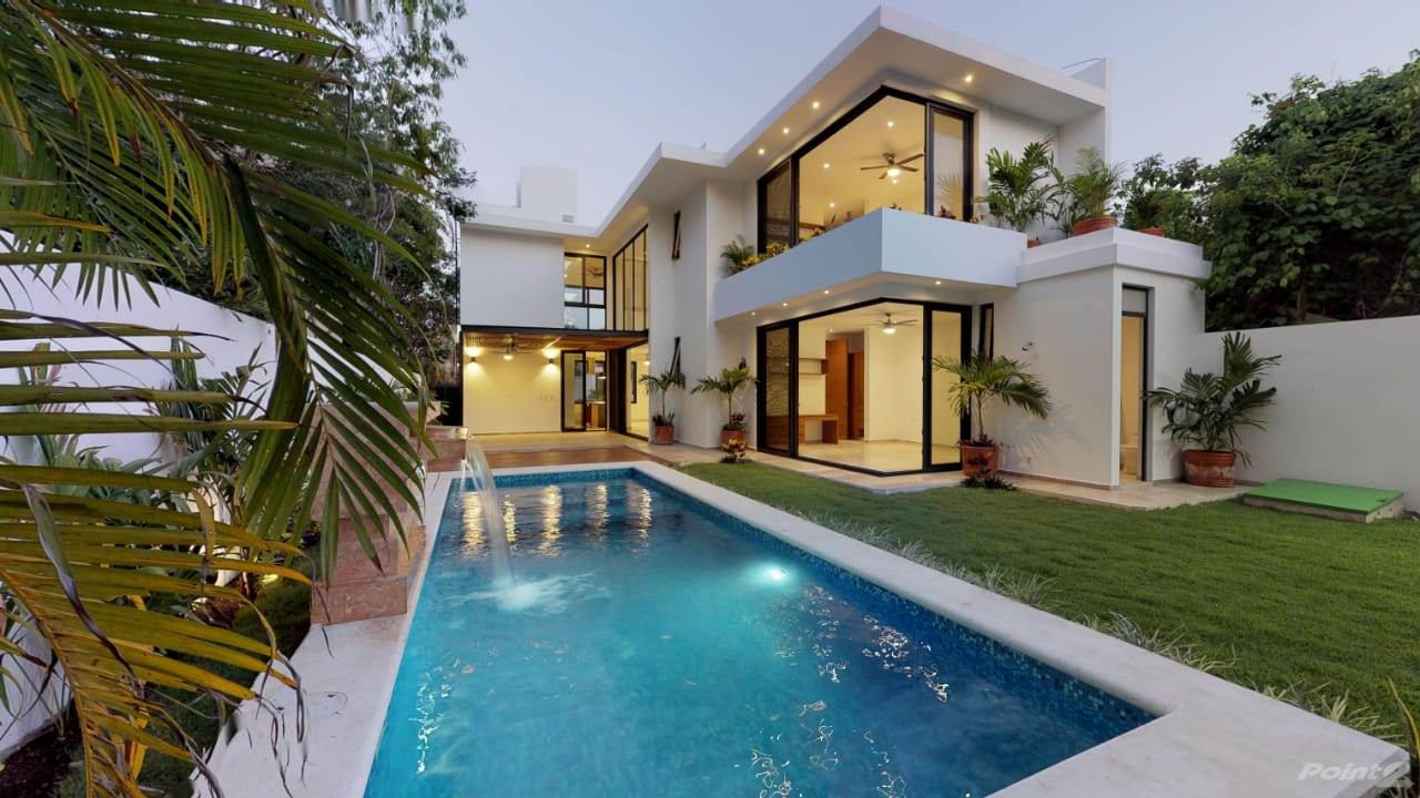 Wohnobjekte zum Verkauf in Luxurious NEW HOUSE in Playa Magna private pool, bright with luxury finishes P3033, Playa del Carmen, Quintana Roo ,77710  , Mexiko