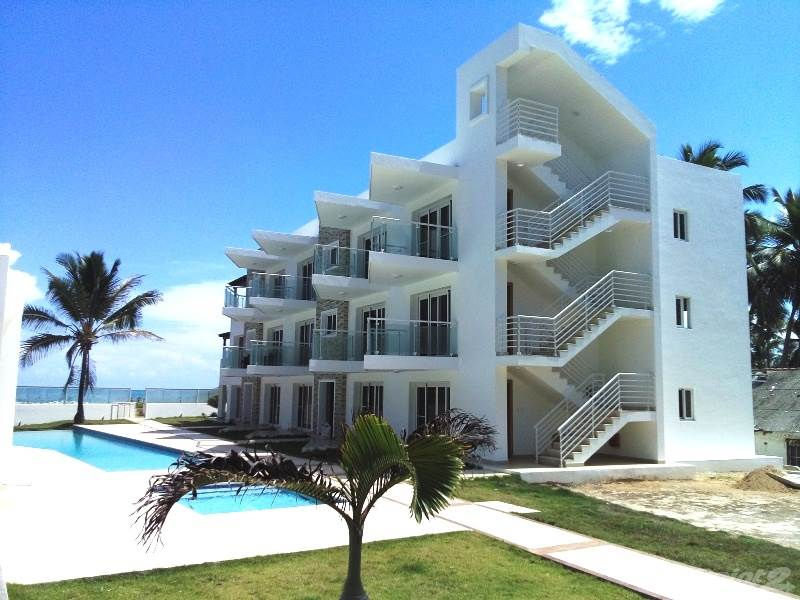 Apartment zum Verkauf in Modern, bright new apartment on the beach in Cabarete!!, Cabarete, Puerto Plata ,57000  , Dominikanische Republik